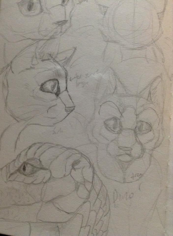 Old realism sketches - My sketchboook