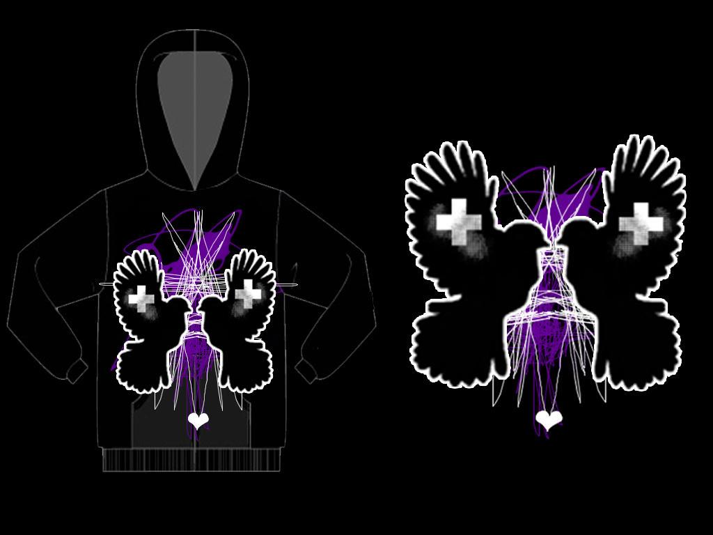 Connected Flight Hoodie by shesarocker