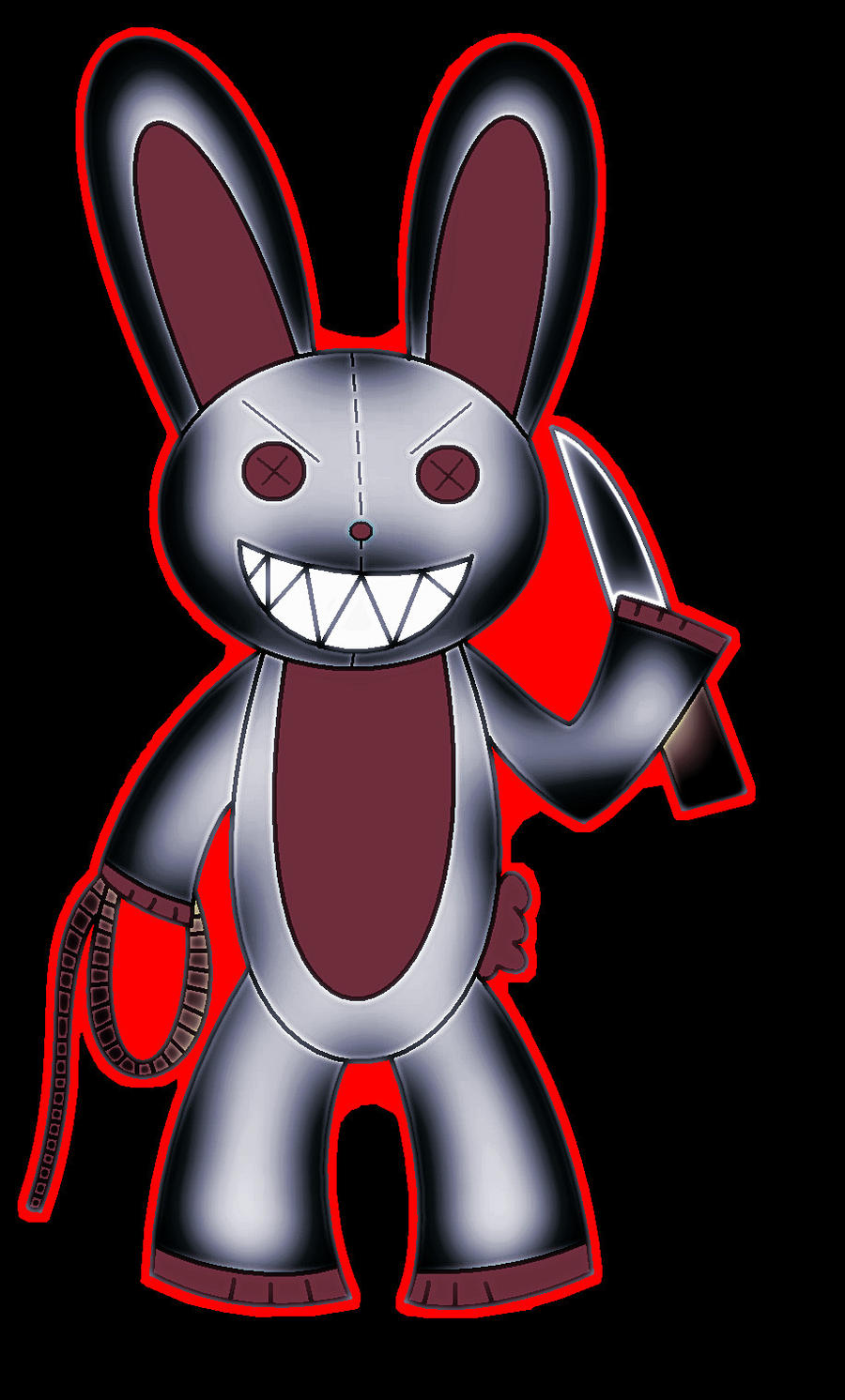 Evil Rabbit by RaphaelaTheTurtel on DeviantArt - photo#12