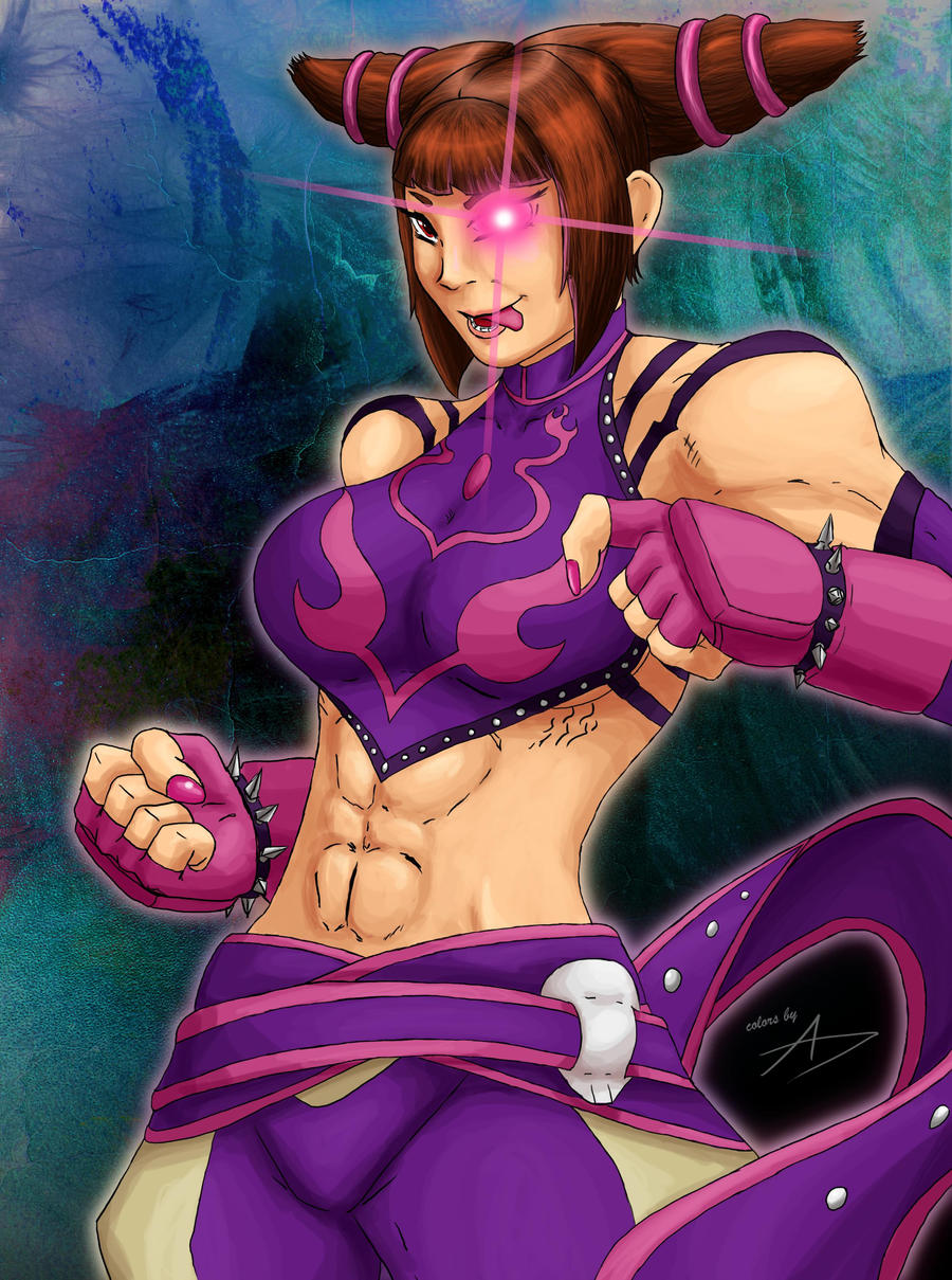Juri in color by Bfetish