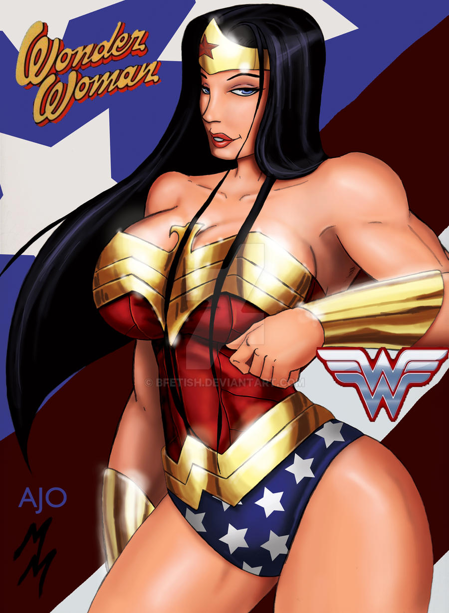 Wonder Woman Colors by AJ by Bfetish