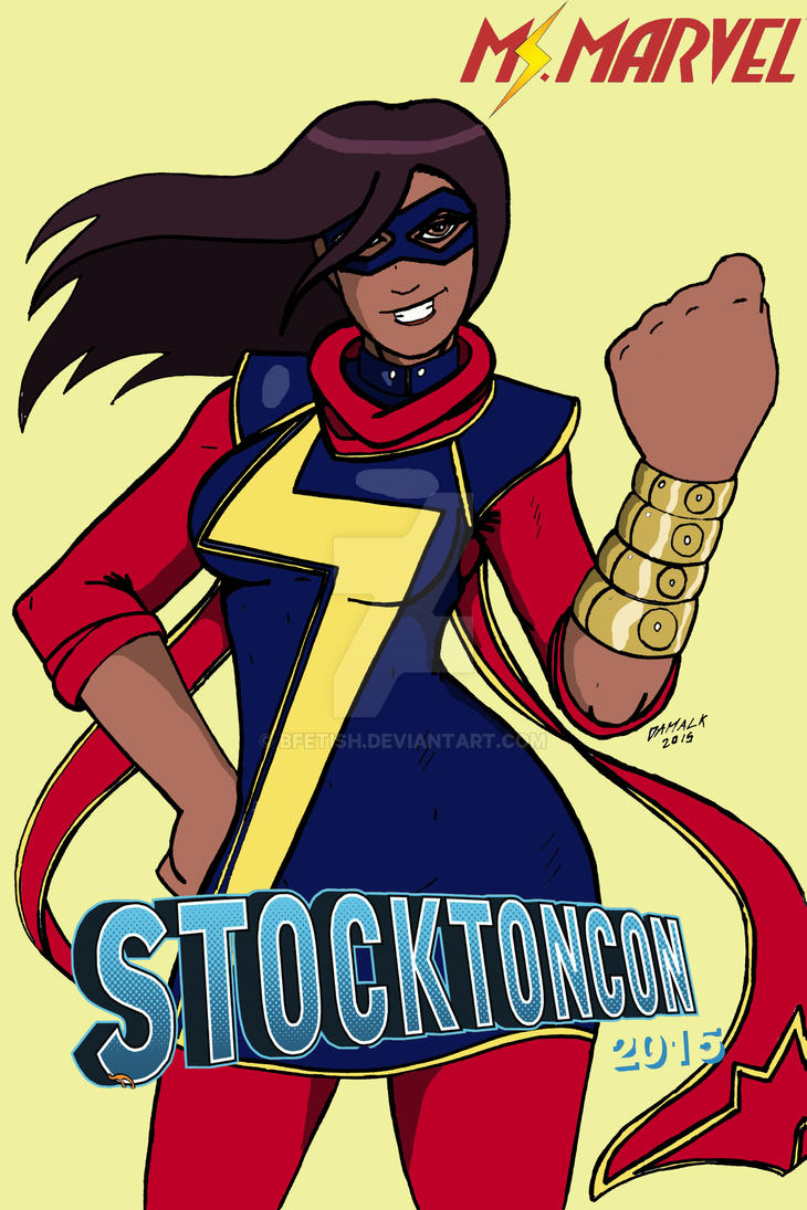 Ms Marvel. Stockton Con 2015 art contest by Bfetish