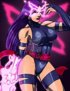 Psylocke in Color