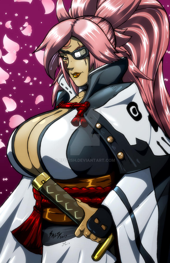 Baiken Colors complete! by Bfetish