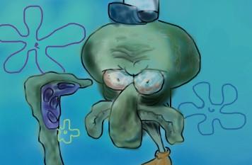The Tragedy of Spongebob Squarepants — 3  Squidward Tentacles