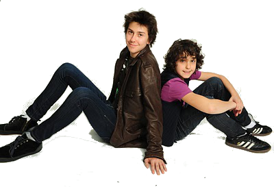 Nat Wolff and  Alex Wolff png by taiream-25