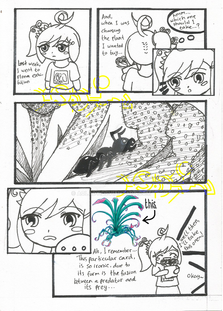 Mini Comic - The Irony by AoLady