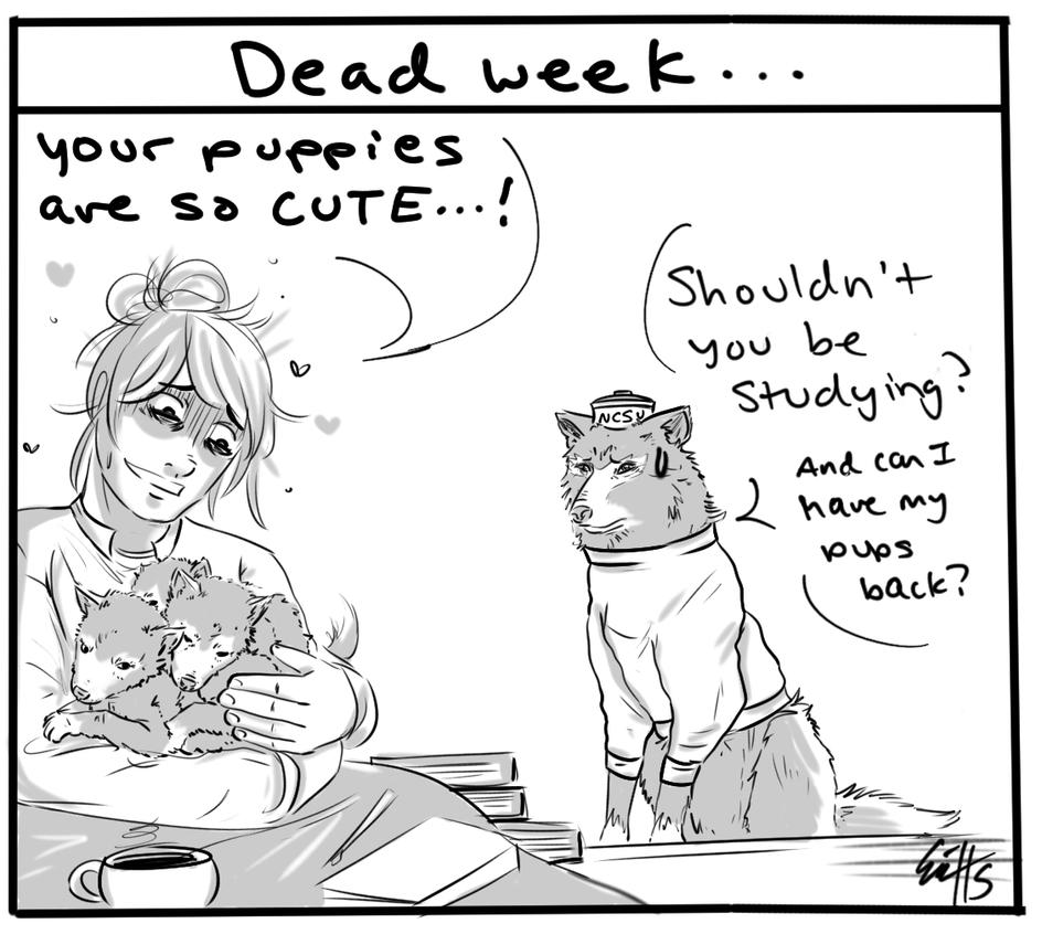 Dead Week by OkiRose