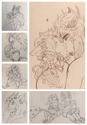 Tine Doodles 2 by OkiRose