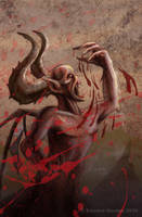 'The Devil's Fury' Art by ed-norden