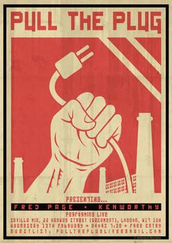 'Pull the Plug' Feb. 2013 Poster
