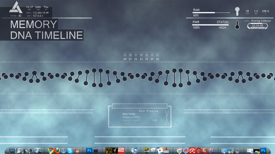 Desktop - Animus Interface by aleramicci