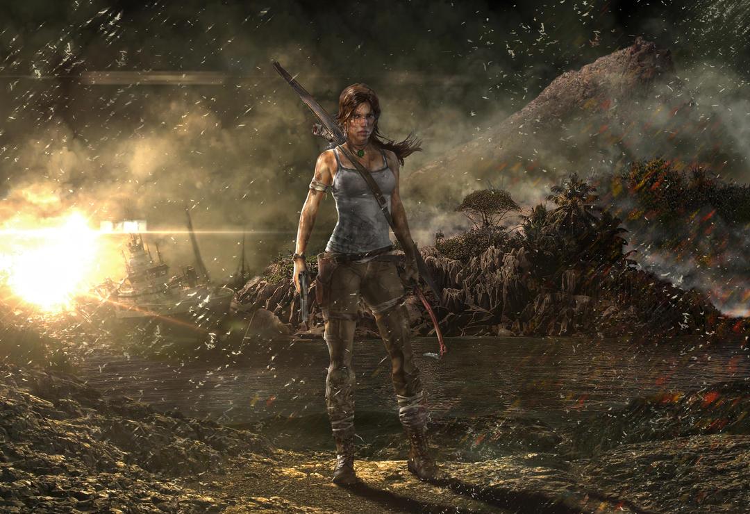 Lara Croft Tom Raider Reborn Contest by creasitedesign