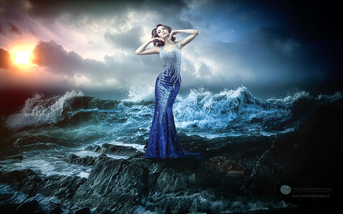 Girl of the sea by creasitedesign