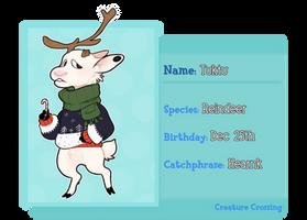 [CREATURE CROSSING] Tuktu App by Rangiferous