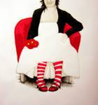 Stripey Socks by rissdemeanour