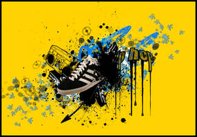 my adidas 2 by kAliEf-creative