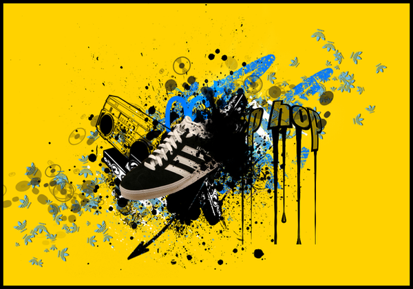 my adidas 2 by kAliEf-creative