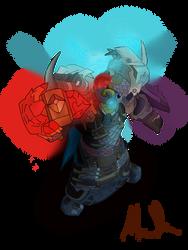 My World of Warcraft character(Shaman)