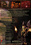 Elder Scrolls III Keening Box Back Cover