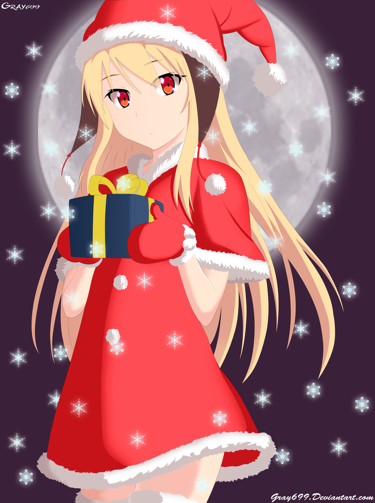Mashiro Shiina wishes you Merry Christmas by Gray699