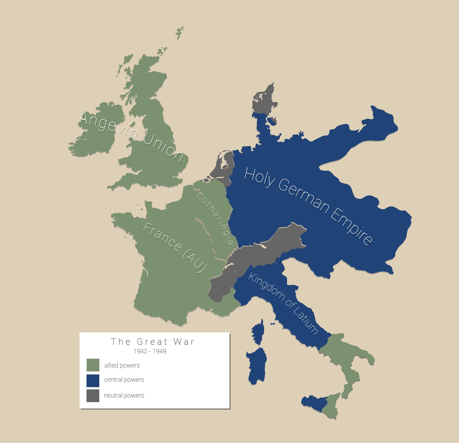 AH The Great War: 1942 by Maonsie