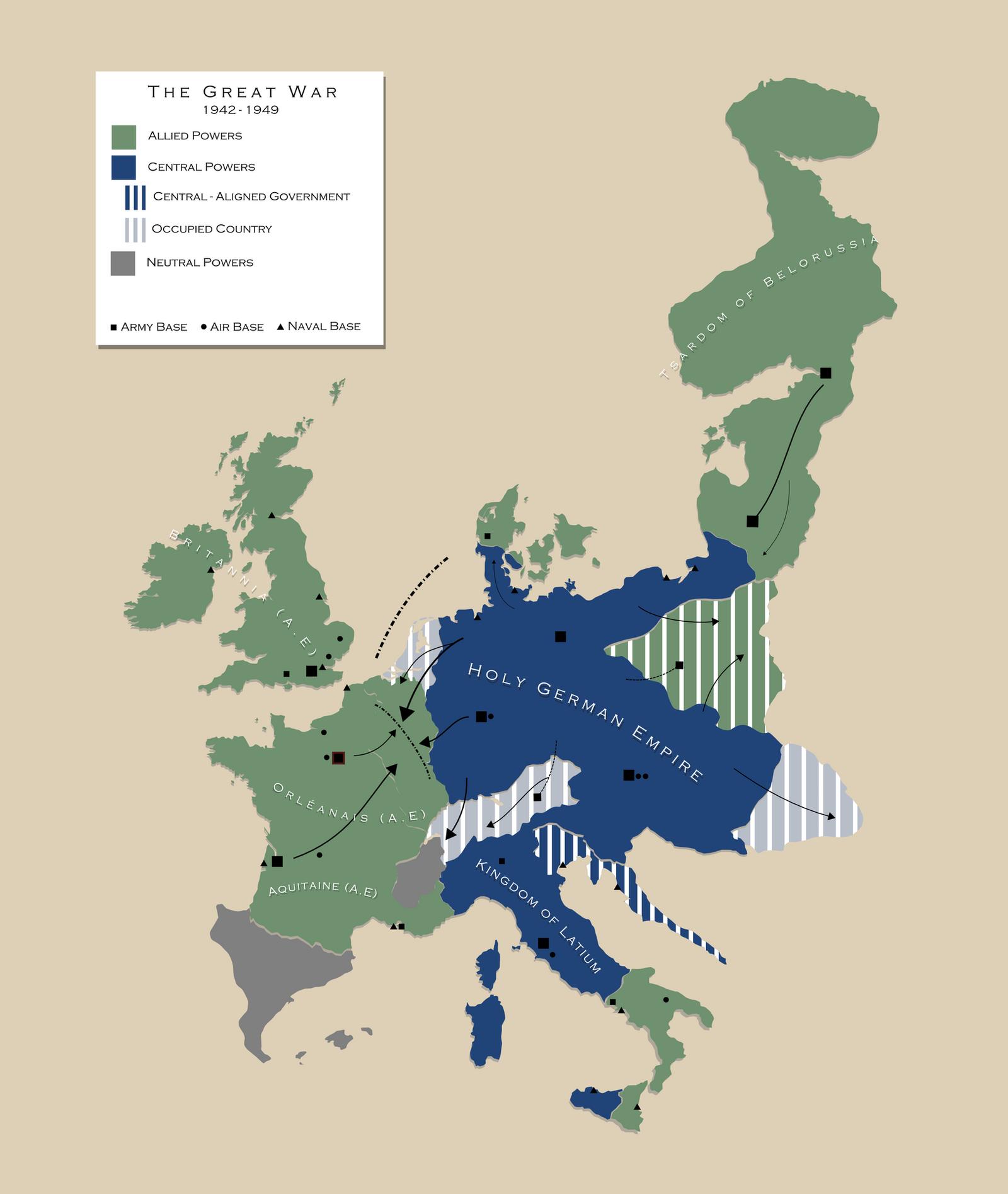 AH The Great War: Mid-1943 by Maonsie