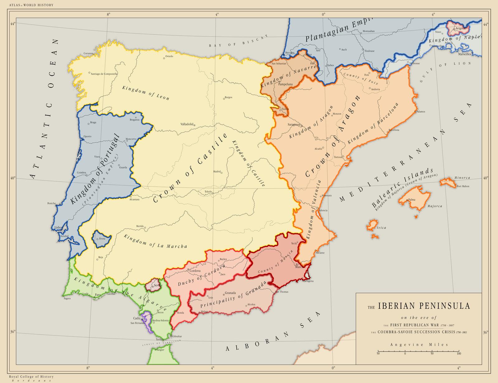 AH Iberia 1798 by Maonsie