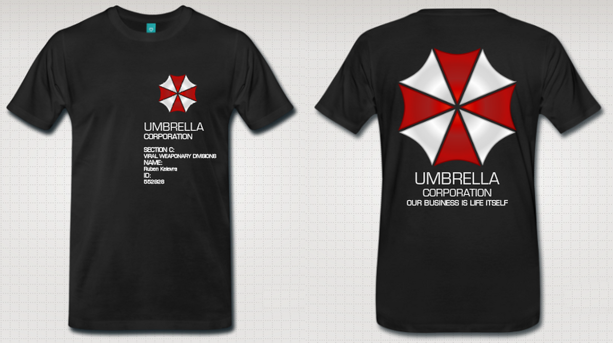 Destroyed T Shirt Design