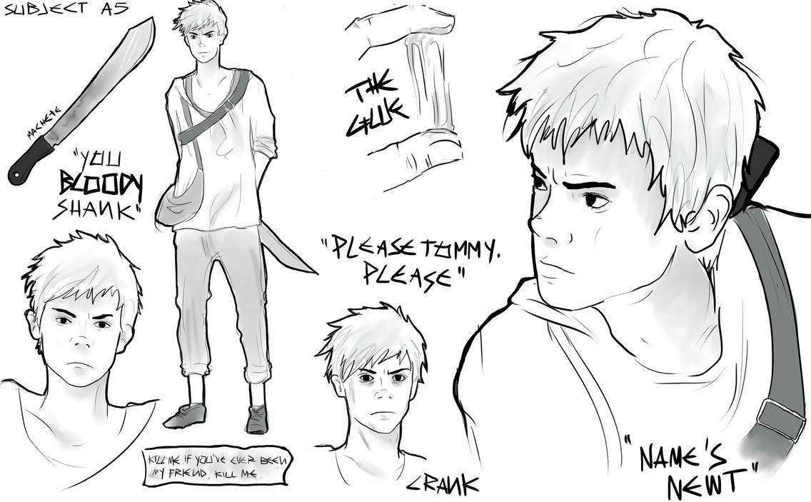 The Maze Runner character sheets: Newt by MrsKanda on DeviantArt