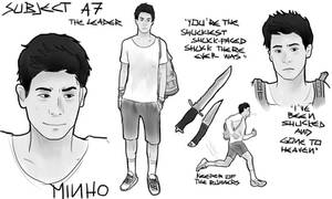 The Maze Runner character sheets: Minho