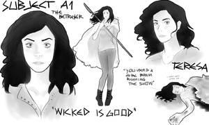 The Maze Runner character sheets: Teresa by MrsKanda