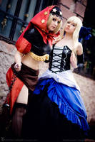 Odin Sphere - Gwendolyn and Velvet 2 by Rubyrelle