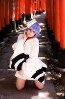 NGE - Rei Ayanami (Kimono) by Rubyrelle