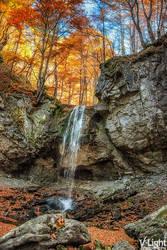 Little Waterfall by V-Light