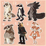 reduced price adoptables (open 3/6)