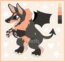 demon dog adoptable (open)