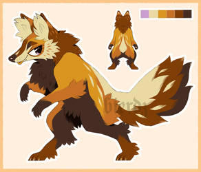 custom fox design
