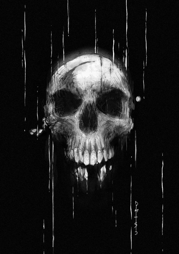 Skull by TheDarkness86