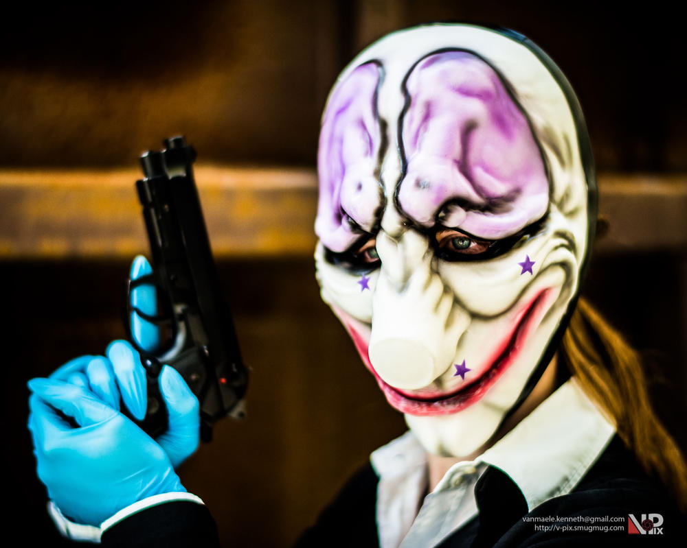 Payday 2 Hoxton by Dawnbringer747