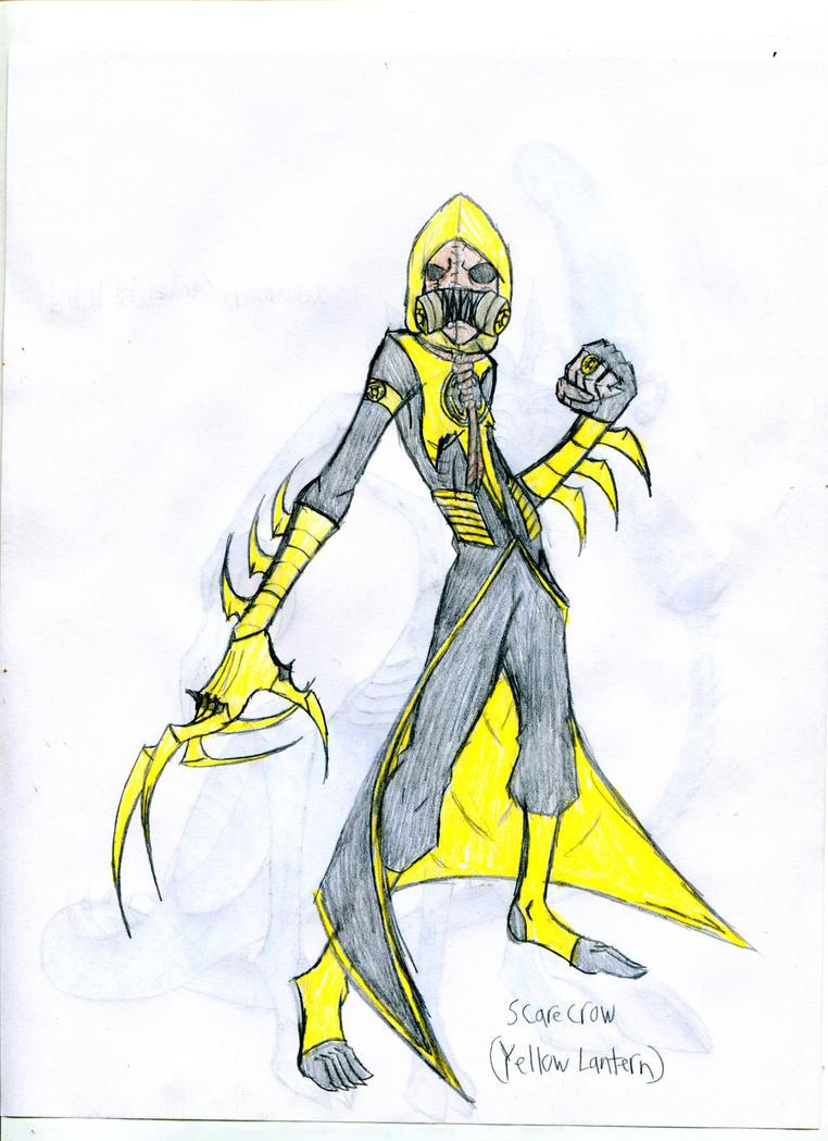 Scarecrow- Yellow Lantern by hailenvy on deviantART