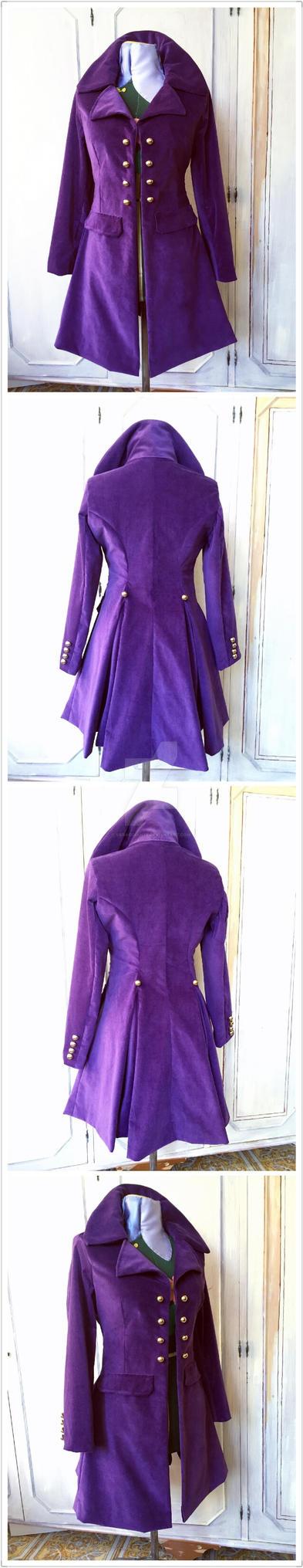 Alois Trancy hand made coat (Kuroshitsuji)  by SaraOdiante