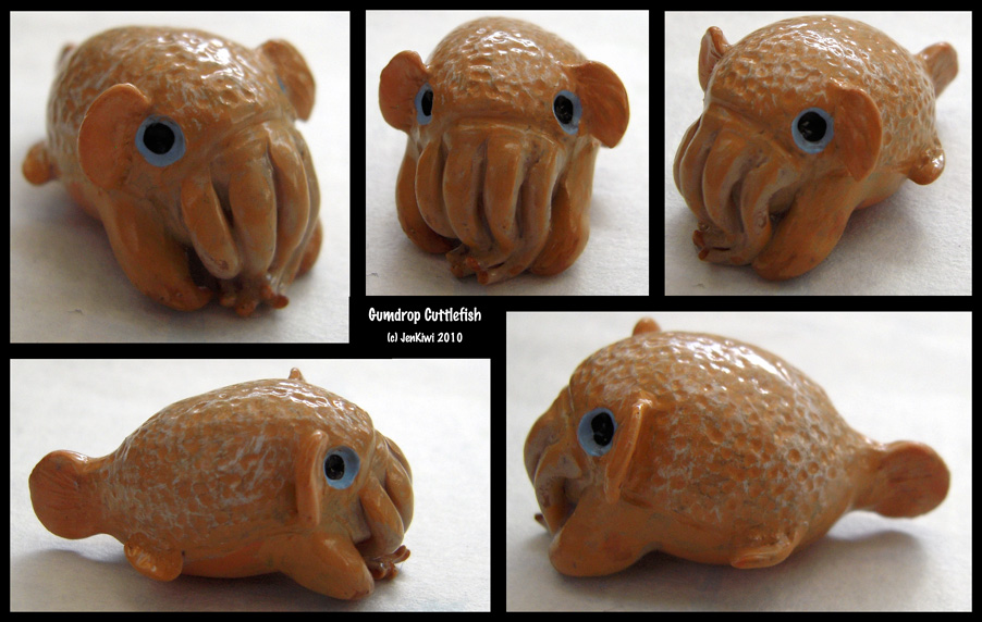 Gumdrop Cuttlefish by jenkiwi