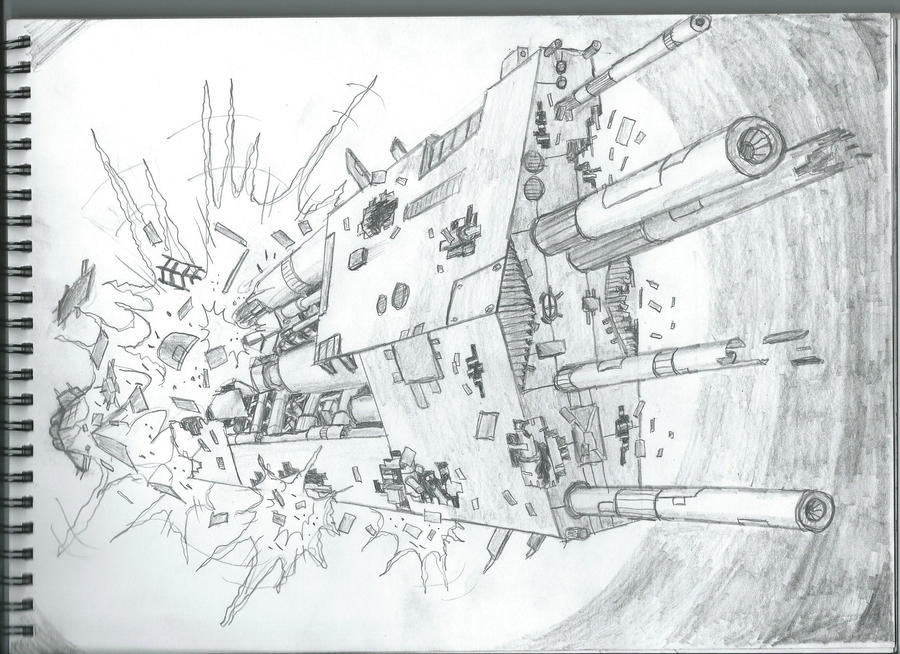 Destruction of space ship 39 unknown 39 by master of onion on deviantart - Unknown uses for an onion ...
