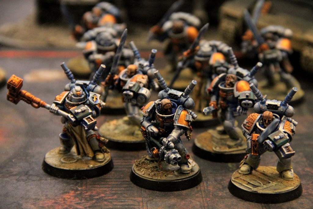 Grey Knight Interceptors by Master-of-Onion