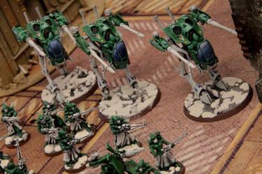 Eldar Exodite War Walkers