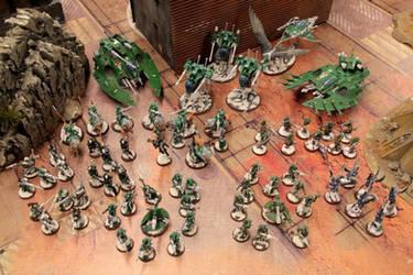 Eldar Exsodite Army