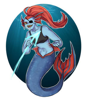 Undyne mermaid