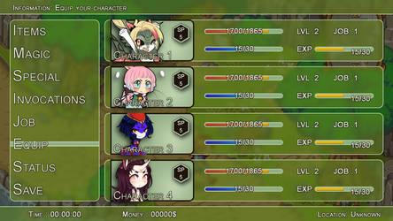 Naga Quest menu test ! by Allaze-eroler