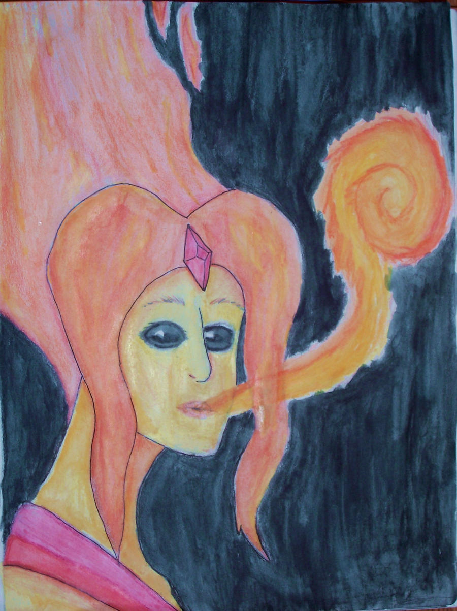 Flame Princess by TheSecretWisher